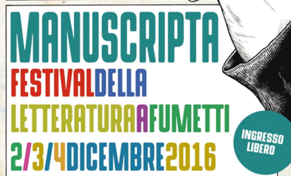 Manuscripta – Festival della letteratura a fumetti
