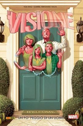 Visione - Un disastro assolutamente normale - Visione-copertina