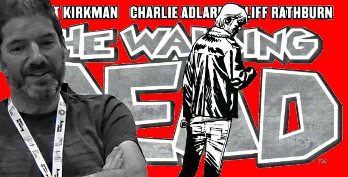 Non sopporto gli zombie: parola di Charlie Adlard