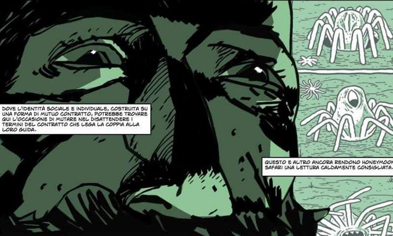 """Bjorn Giordano, recensione A Fumetti di """"Safari Honeymoon"""""""