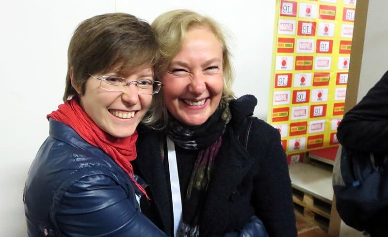Intervista a(b)braccio a Silvia Ziche