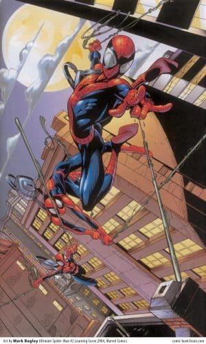 mark-bagley-spider-man-ultimate-learning-curve