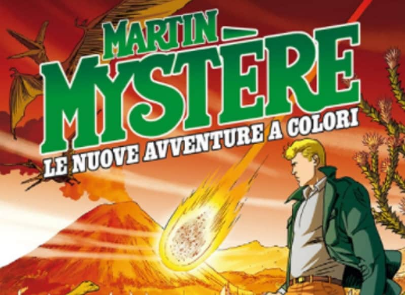 Martin Mystère a colori approda in Sardegna