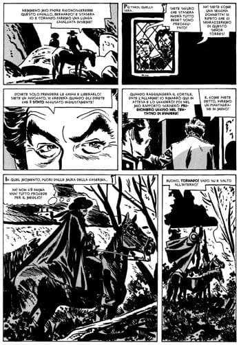Nero su nero: Zorro di Alex Toth