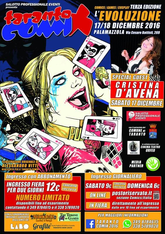 Taranto Comix 2016: l'evoluzione