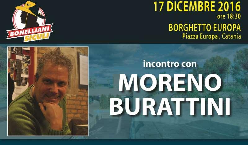 Sabato 17 dicembre incontro con Moreno Burattini a Catania