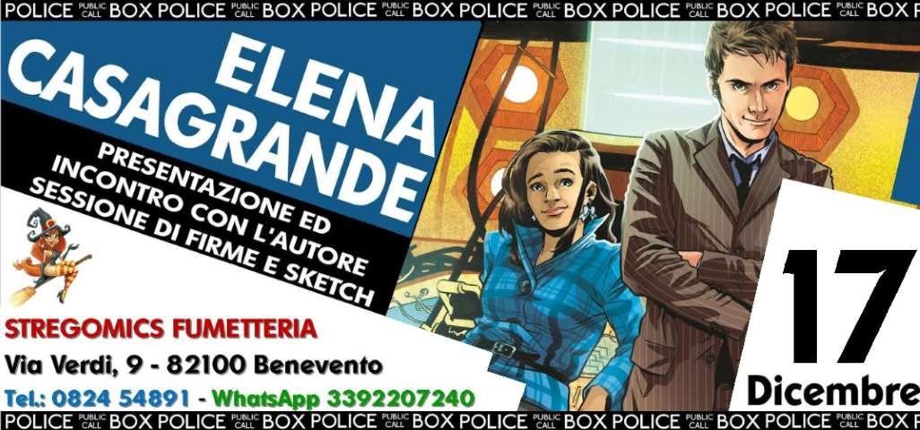 Incontro con Elena Casagrande a Benevento il 17 dicembre 2016