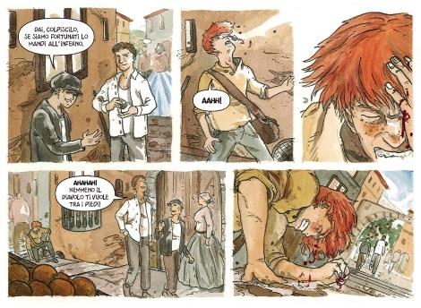 Palarchi e Melis: Rosso Malpelo, verismo a fumetti.