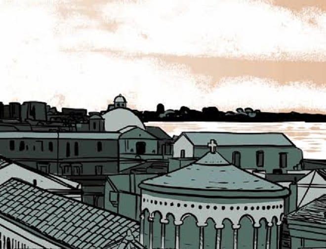 Gli scogli di Taranto di Mattia Moro, dal web alla carta