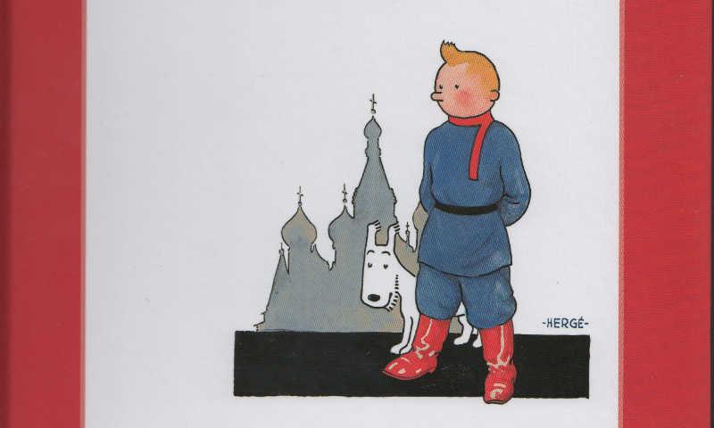 Un classico in edicola: Tintin nel paese dei soviet