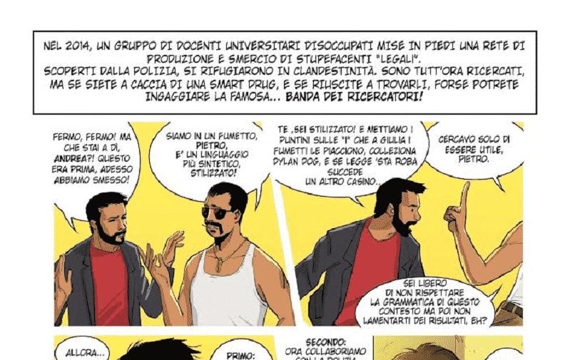 Smetto Quando Voglio Masterclass: il fumetto con la Gazzetta