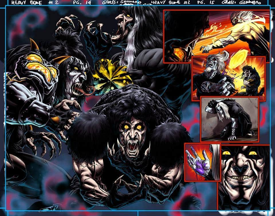 Heavy Bone: arriva la nuova miniserie targata HEAVY Comics