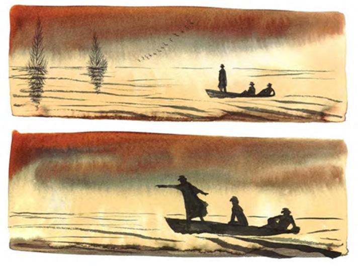 Alessandro Sanna, Il grande fiume lento e altre storie