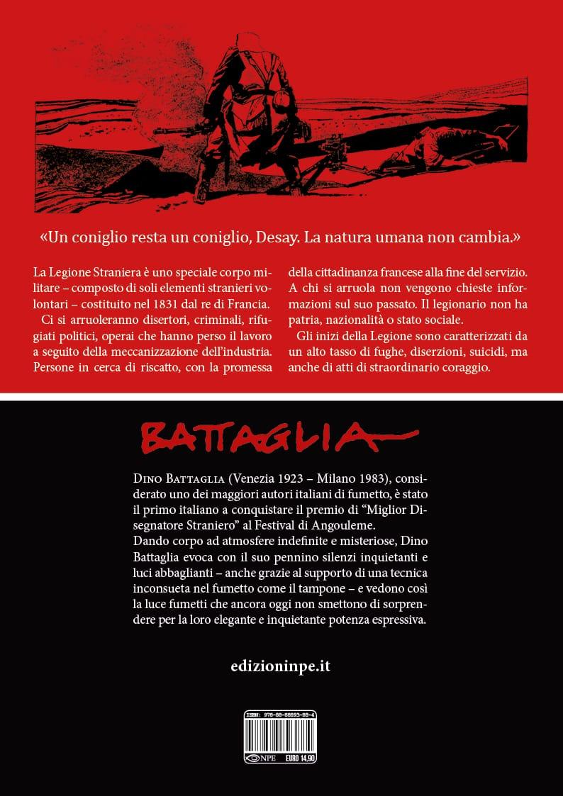 L'Uomo della Legione di Dino Battaglia disponibile dal 3 febbraio