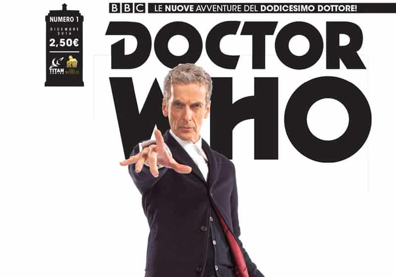 "Anteprima di ""Doctor Who #1"": Peter Capaldi a fumetti"