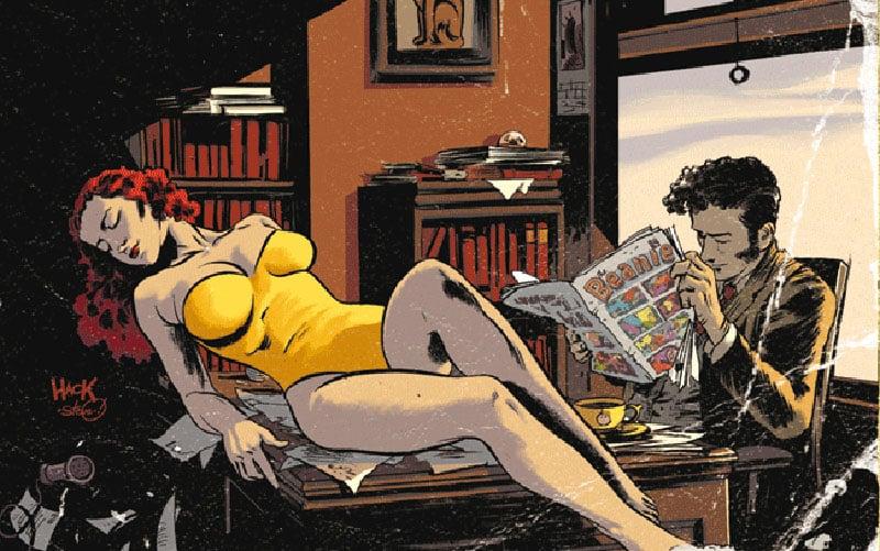 Dirk Gently a fumetti: tra libri e serie TV