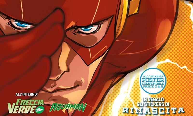 Flash #1 – Mettere i personaggi al centro delle storie