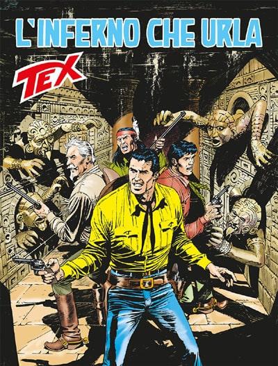 Tex #675 - L'inferno che urla (Boselli, Civitelli)