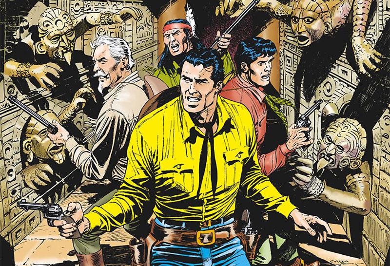 Tex #675 – L'inferno che urla (Boselli, Civitelli)