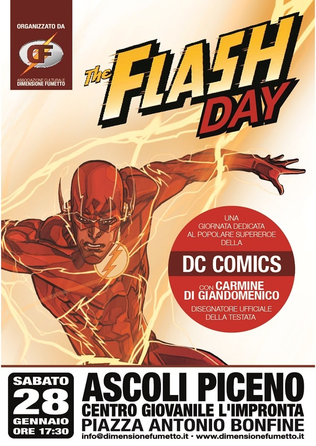 Flash Day: Una sfida con Carmine Di Giandomenico
