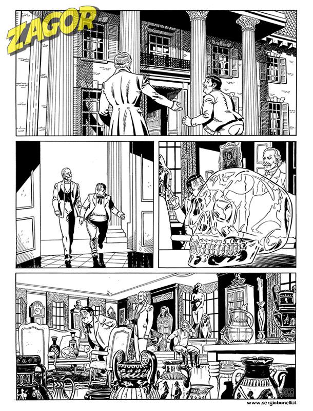 Zagor: in arrivo una miniserie inedita a colori su Cico