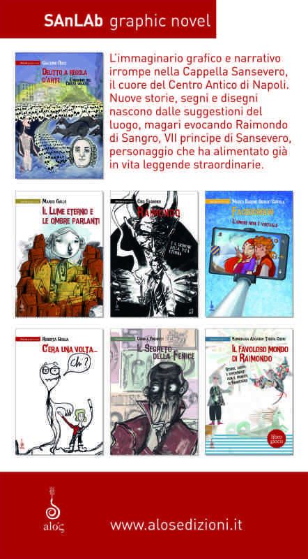 SAnLAb graphic novel, la nuova collana Alós