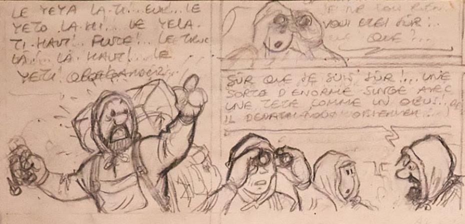 Un'area dedicata a Hergé a BRAFA 2017
