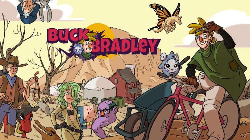 Su Google Play Buck Bradley: Comic Adventure videogioco ambientalista