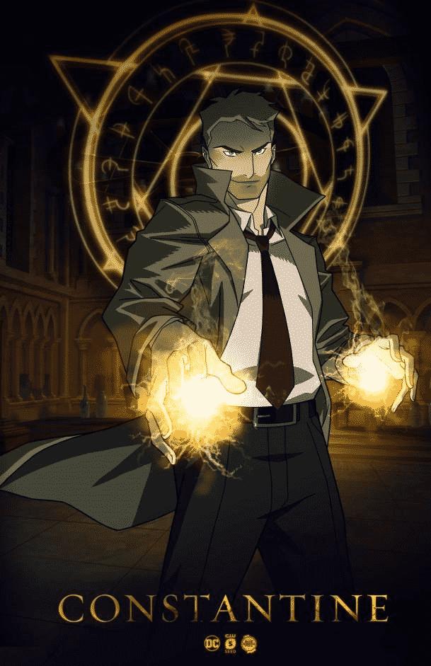 Constantine ritorna come serie animata su CW Seed