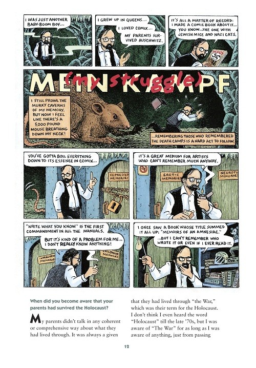 Art Spiegelman, sotto la maschera del roditore