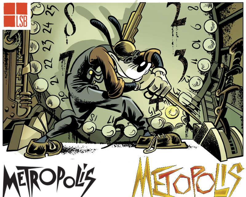 Metopolis: Topolino reinterpreta Fritz Lang