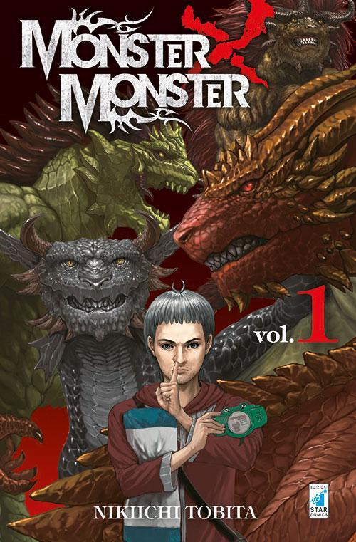 """E' disponibile il primo numero del manga """"Monster x Monster"""