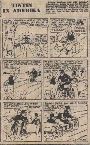 Tintin in America: un viaggio in un mondo immaginario