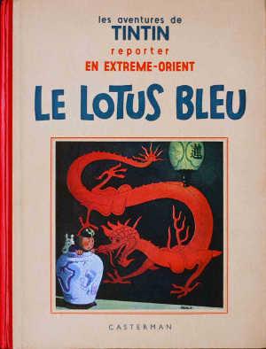 Il loto blu: il primo capolavoro del Tintin di Hergé
