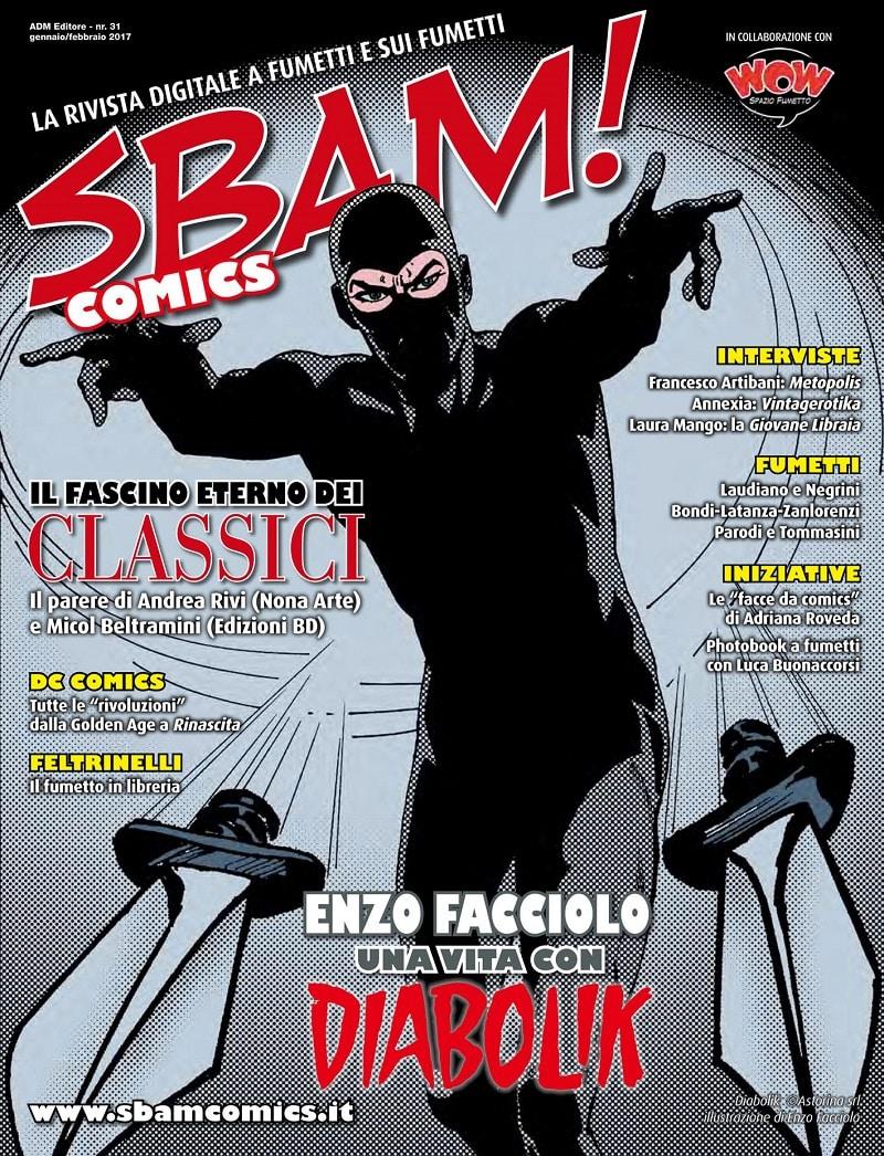 È uscito il nr. 31 di Sbam! Comics
