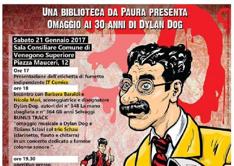 Fondo Sclavi dedica una giornata ai 30 anni di Dylan Dog