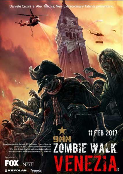 Premi Saldapress per la nuova zombie walk di Carnevale