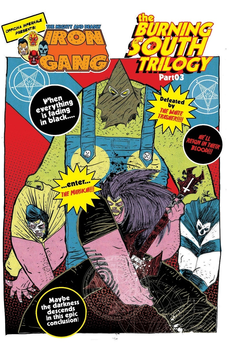 Shockdom: disponibile The Mighty and Deadly Iron Gang di Officina Infernale_Notizie