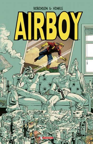 E' disponibile Airboy di James Robinson e Greg Hinkle