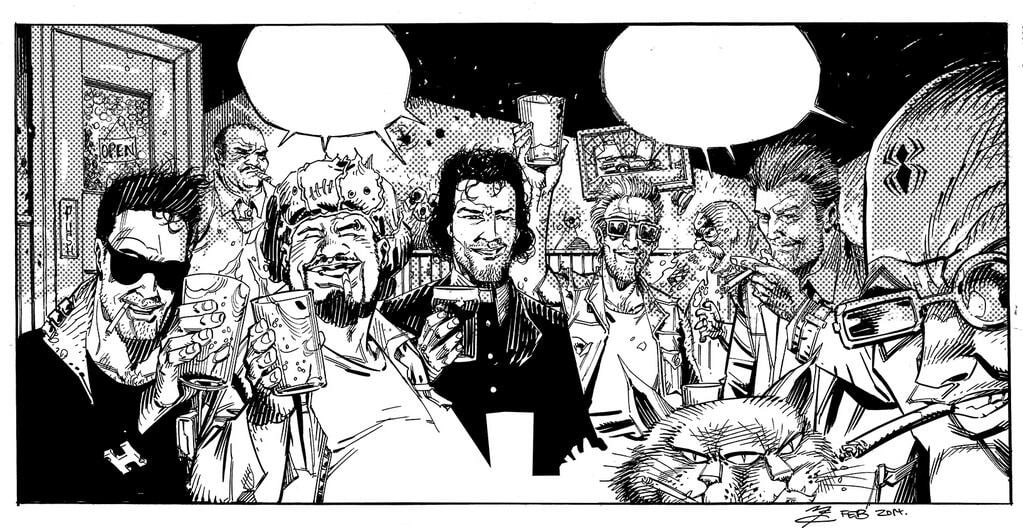 John McCrea su The Cannibal Family e Paranoid Boyd