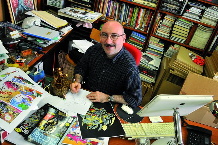 Vittorio Pavesio, la mente creativa dietro il Torino Comics