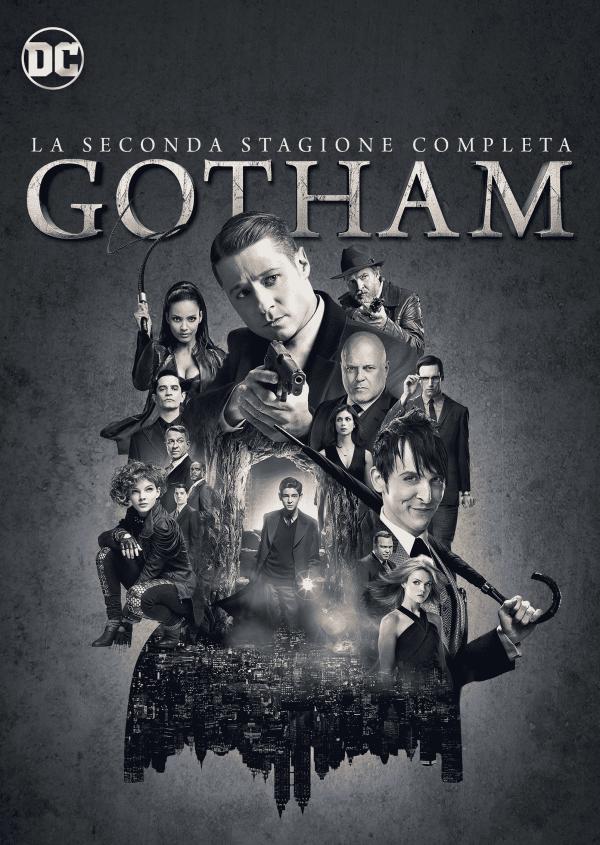 Gotham_La Seconda Stagione Completa_DVD_2D