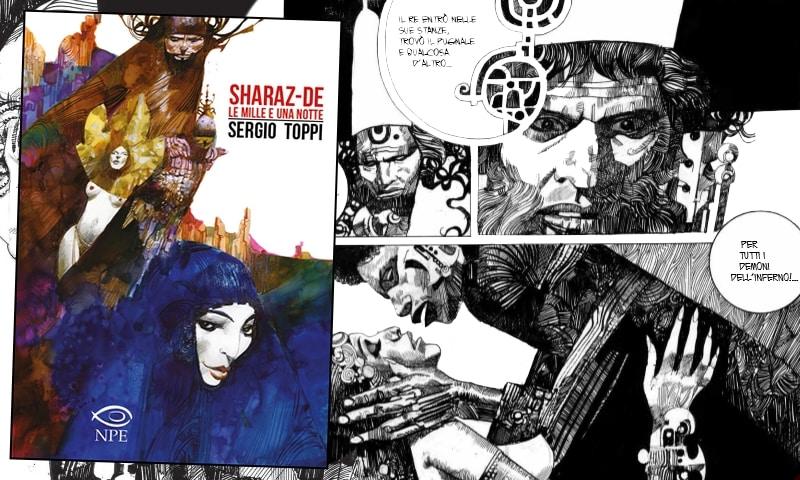 Un labirinto di nome Sharaz-De: l'arte di Sergio Toppi (1° parte)