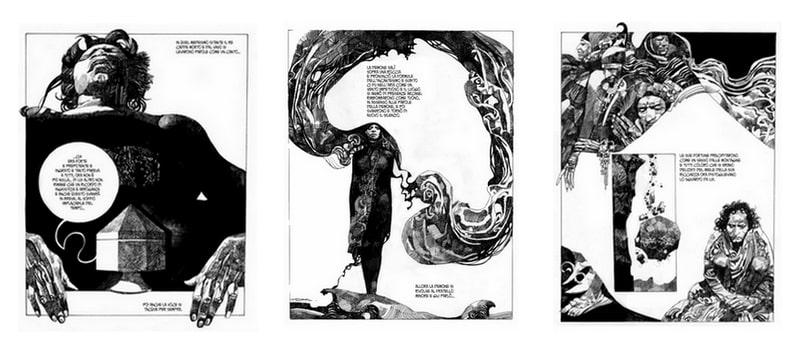 Un labirinto di nome Sharaz-De: l'arte di Sergio Toppi (2° parte)