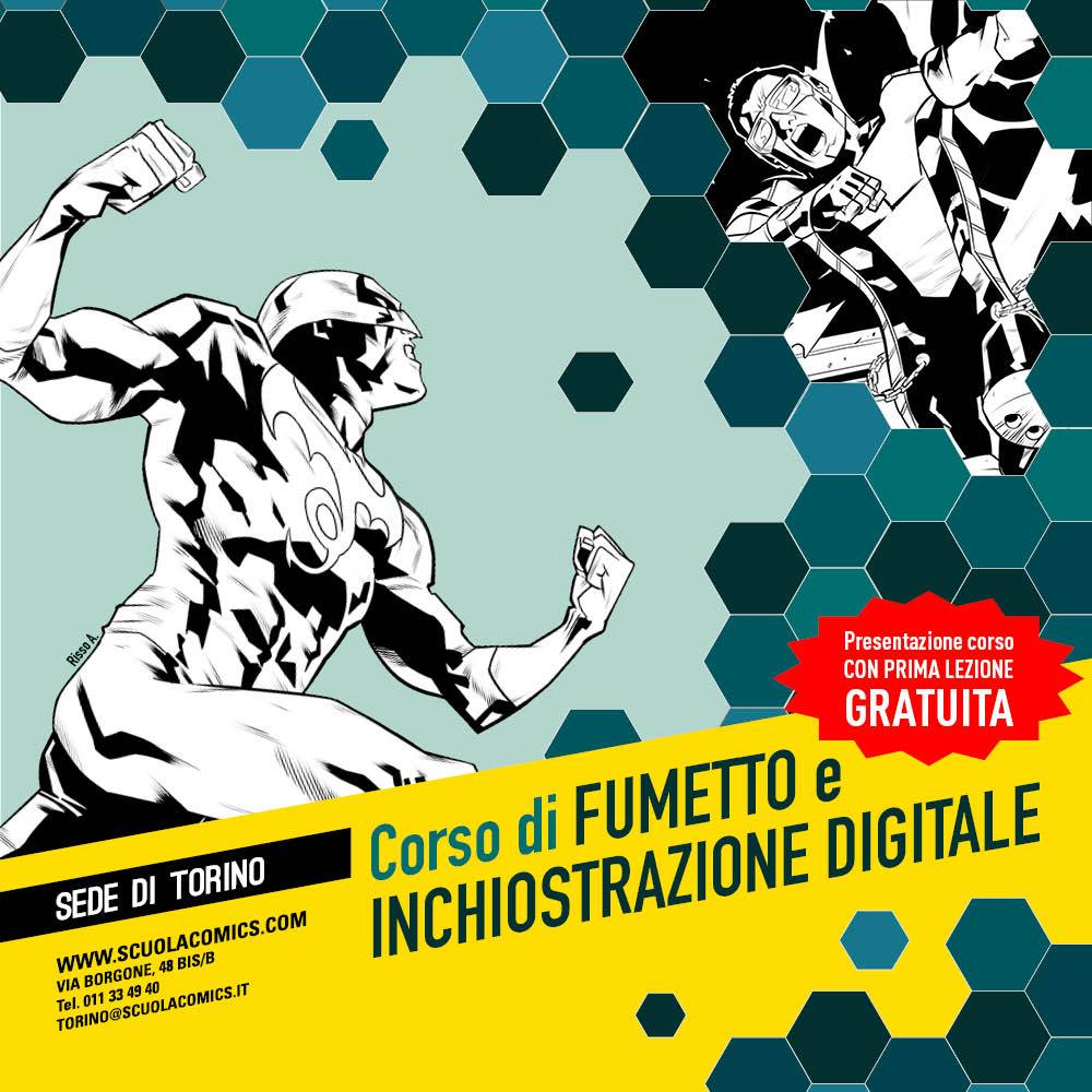 Eventi di marzo per la Scuola Internazionale di Comics di Torino