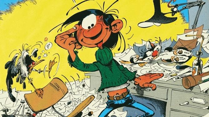 Gaston Lagaffe di André Franquin arriva sul grande schermo