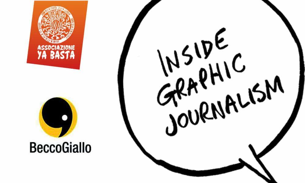 Inside Graphic Journalism: corso di giornalismo a fumetti