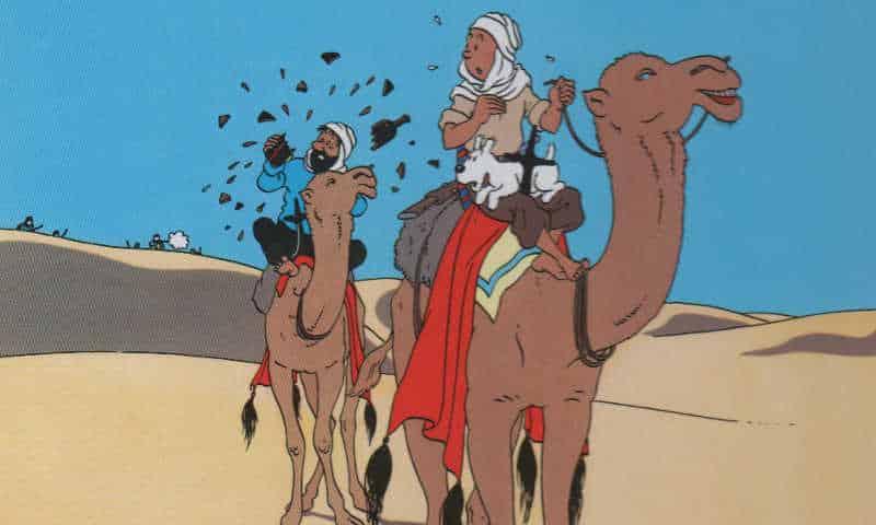 Arriva Haddock! E Tintin insegue Il granchio d'oro