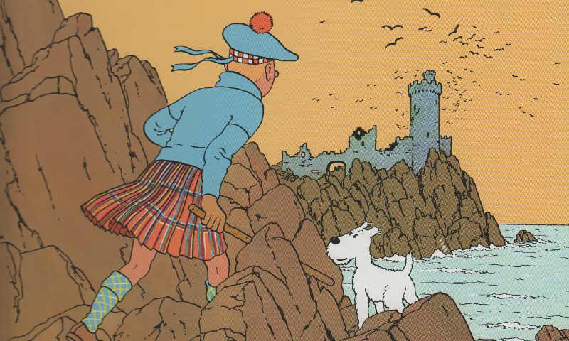 Tintin e la formula del successo: L'isola nera