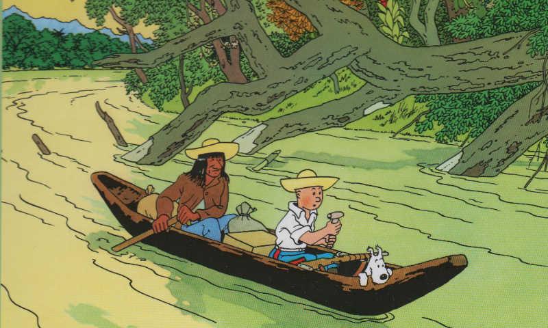 Hergé consolida il suo stile: Tintin e l'orecchio spezzato